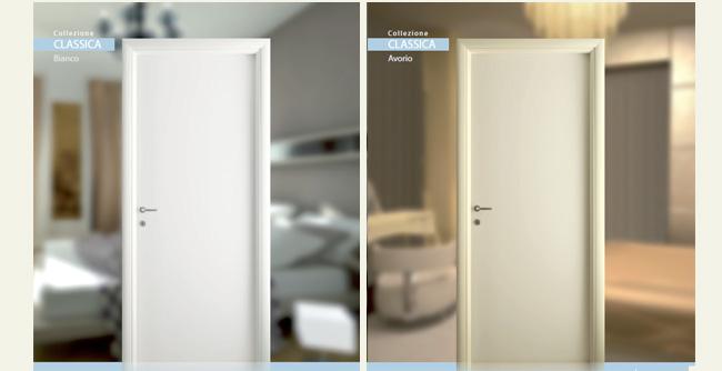 Nicolotti dal 1960 la tua porta su misura - Porta bianca laminato ...